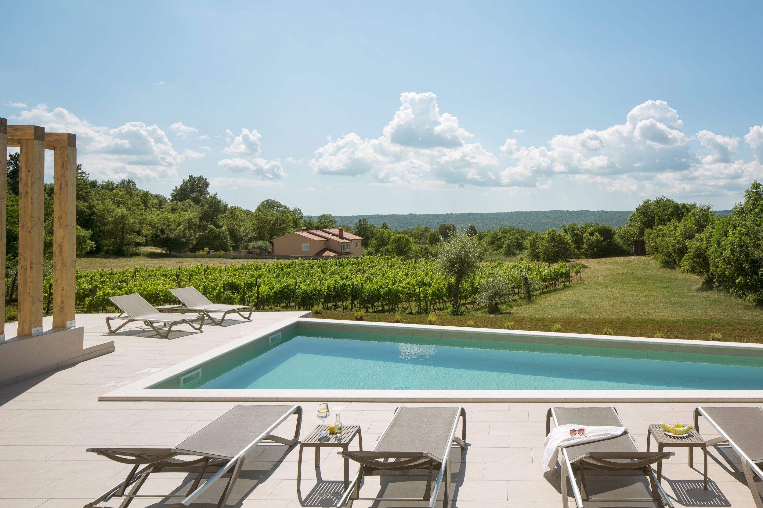 luxury villa in istria
